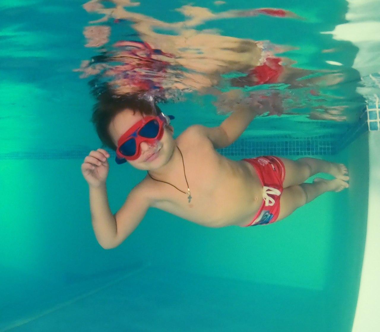 Плавание для детей 4-6 лет