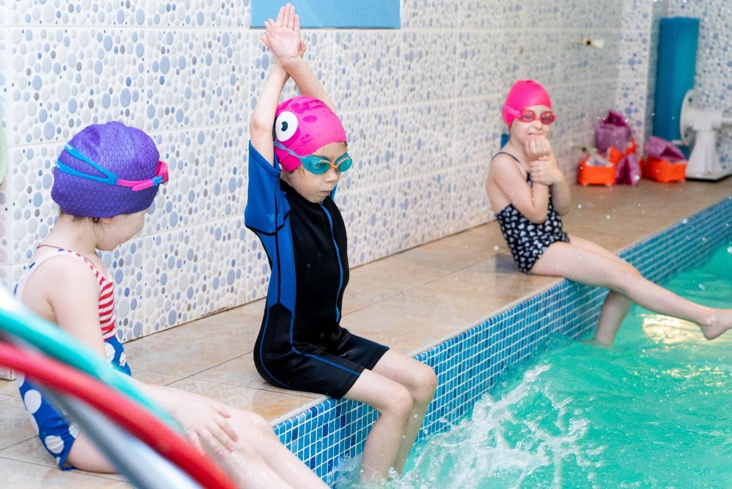 Собственный бассейн для детей