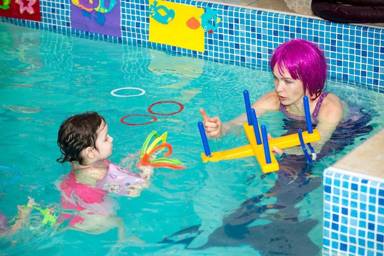 День рождения в бассейне