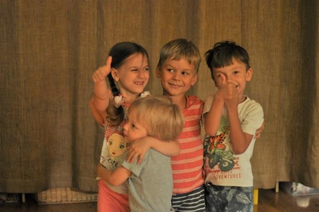 Небольшое количество детей в группах